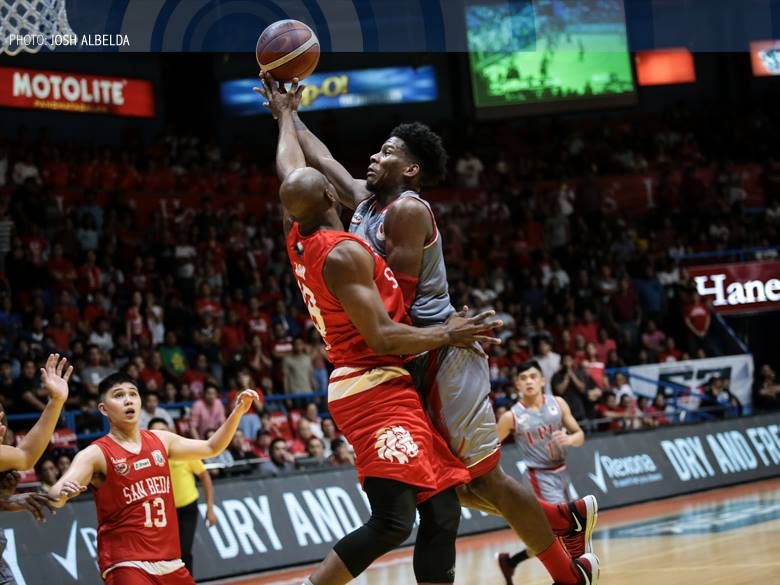 FILE: The league announced early Friday that the opener of the best-of-three series between Lyceum and San Beda at the Smart Araneta Coliseum in Quezon City will push through as scheduled later in the day at 3:30 p.m. (Photo: NCAA Sports TV/Facebook)