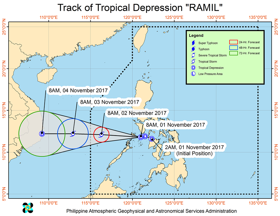 Flights, trips canceled due to Tropical Depression Ramil