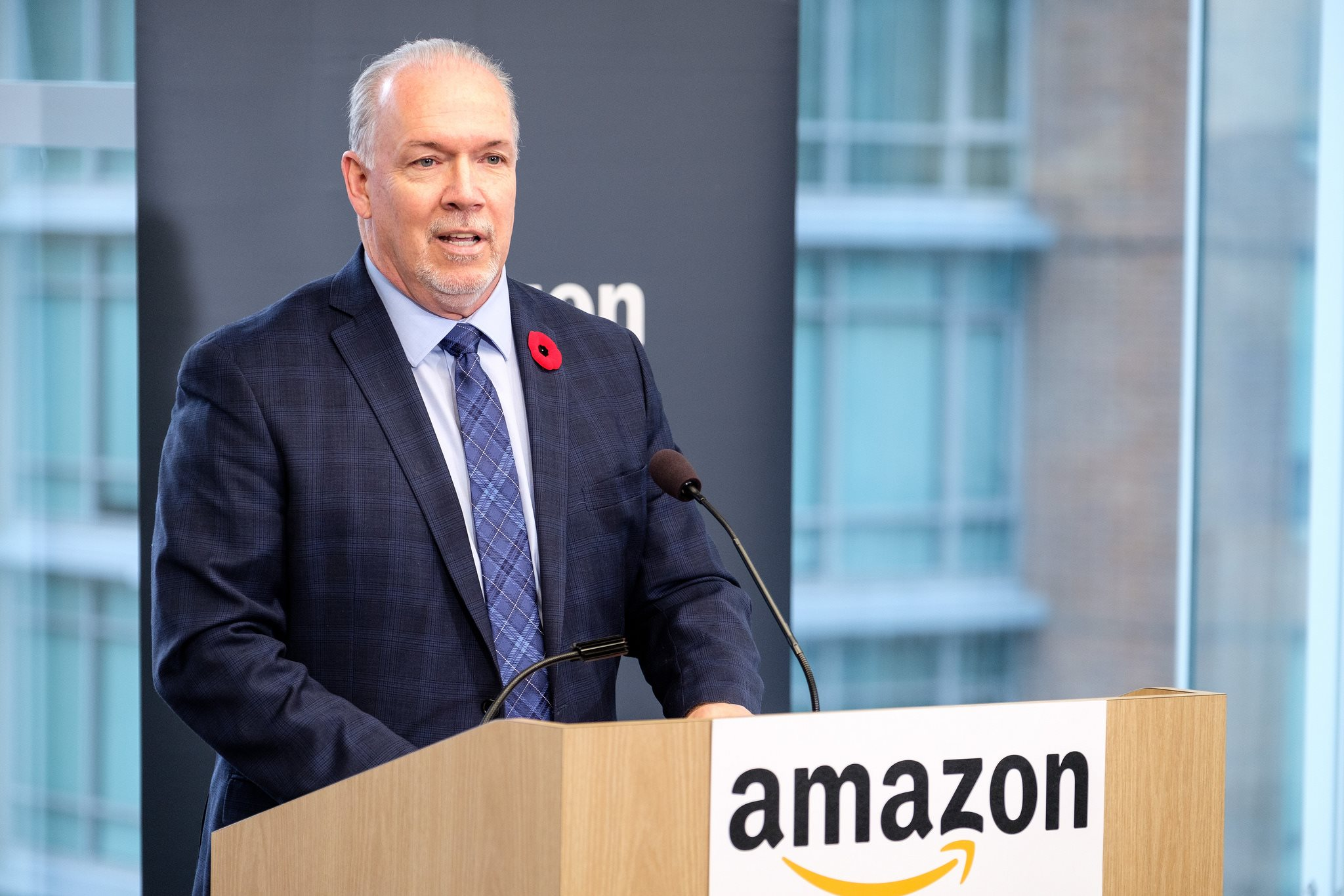 FILE: Horgan said he wanted to lower the temperature in the fight over the $7.4-billion expansion project. (Photo: John Horgan/Facebook)