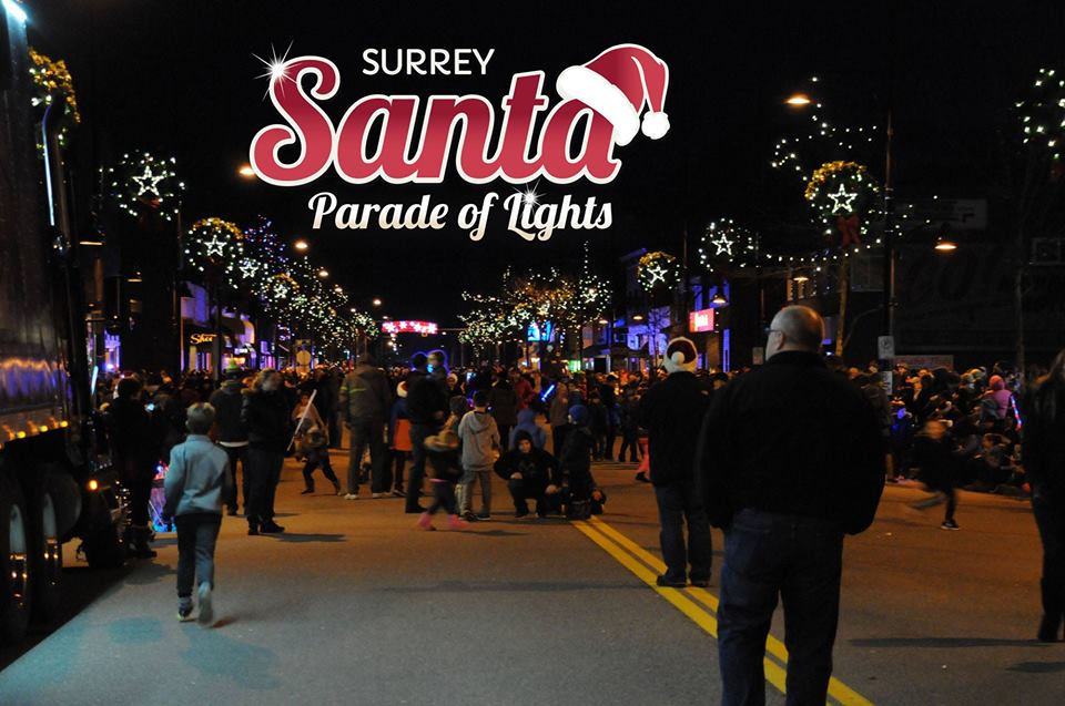 12th Annual Surrey Santa Parade of Lights (Photo: Cloverdale BIA / Facebook)