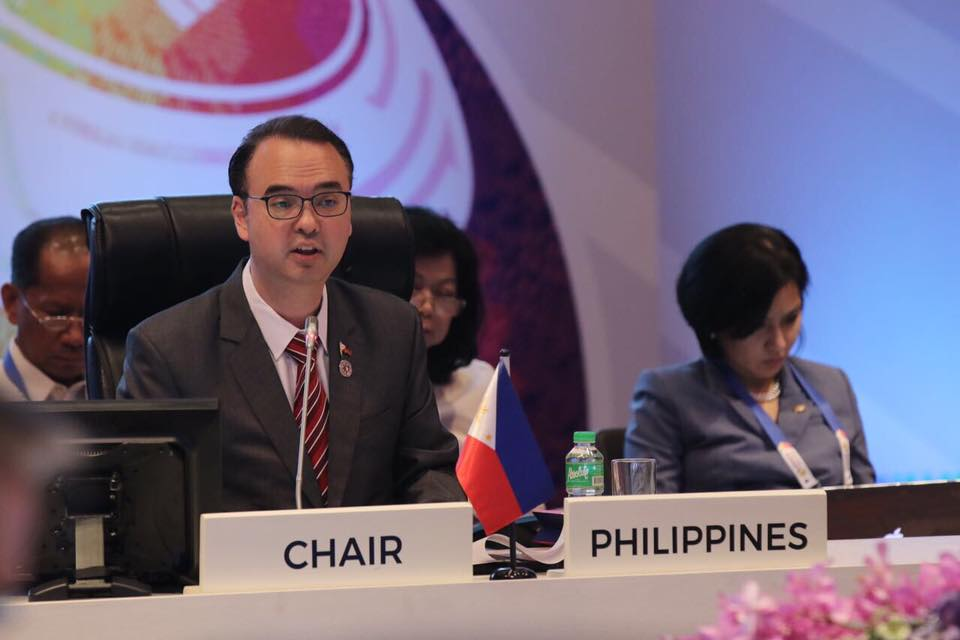 ASEAN FMs also noted significant strides in ASEAN's community-builing efforts, including in the development of an ASEAN-wide instrument to provide greater protection to migrant workers and their families in the region  (Photo: Department of Foreign Affairs/Facebook)