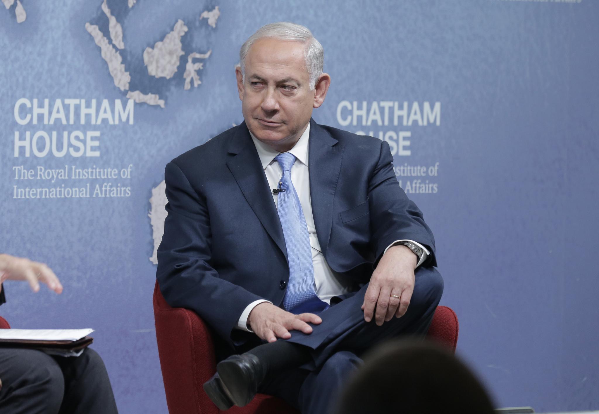FILE: Benjamin Netanyahu (Photo: Chatham House/Flickr, CC BY 2.0)
