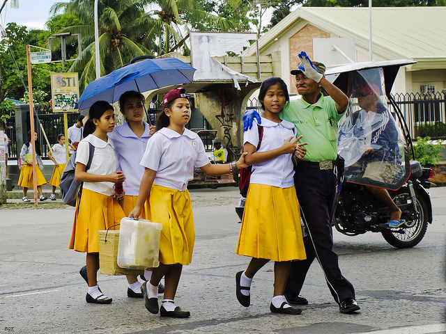 FILE: The Department of Education (DepEd) underscored on Thursday the importance of providing a safe environment for students. (Photo by Brian Evans/Flickr, CC BY-ND 2.0)