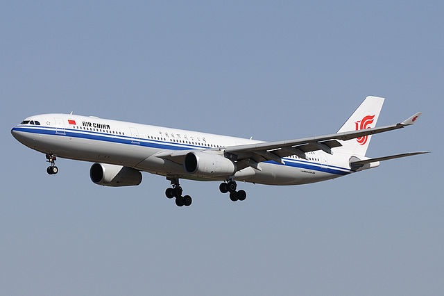 An Air China Airbus A330-300 (Photo By Shimin Gu, GFDL 1.2)