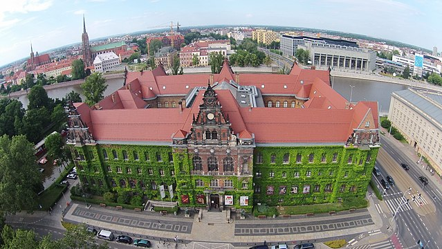Building of the National Museum in Wrocław (Photo By Fallaner - Own work, CC BY-SA 4.0)
