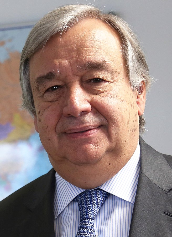 United Nations Secretary General elect Antonio Guterres (Photo By DFID - UK Department for International Development - https://www.flickr.com/photos/dfid/30720847110/, CC BY-SA 2.0)