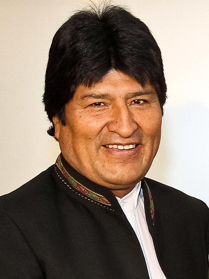 Bolivian President Evo Morales (Photo By Roberto Stuckert Filho/PR - https://www.flickr.com/photos/dilma-rousseff/6539408977/, CC BY-SA 2.0)