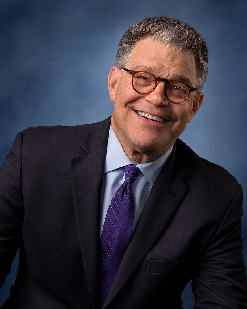 Official portrait of U.S. Senator Al Franken (D-MN) (Photo By U.S. Senate Photographic Studio-Rebecca Hammel - https://www.franken.senate.gov/files/images/presskit/PressKit_Official_Color_HR_2.jpg, Public Domain)