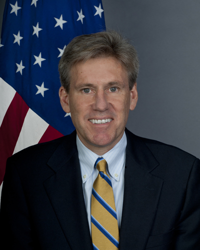 J. Christopher Stevens — United States ambassador to Libya from June 7, 2012 until killed in an attack on the US consulate in Benghazi, on September 12, 2012. (Photo by Wikimedia Commons, Public Domain)
