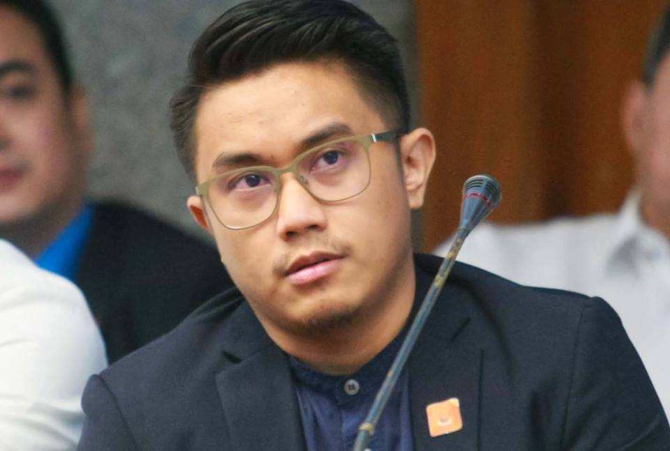 Aegis Juris leader Arvin Balag on Monday agreed that the practice of hazing should definitely be abolished. (Photo: Senator Migz Zubiri/Facebook)