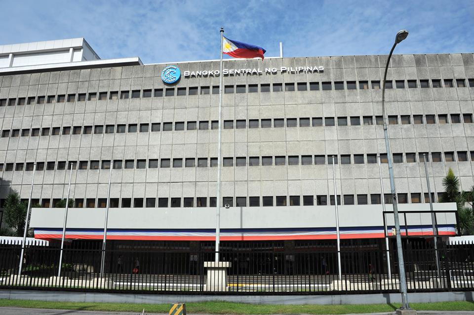 FILE: Data released by the central bank Wednesday showed that only the seven-day facility will be offered  for PHP40 billion in next week's auction. (Photo: Bangko Sentral ng Pilipinas/Facebook)