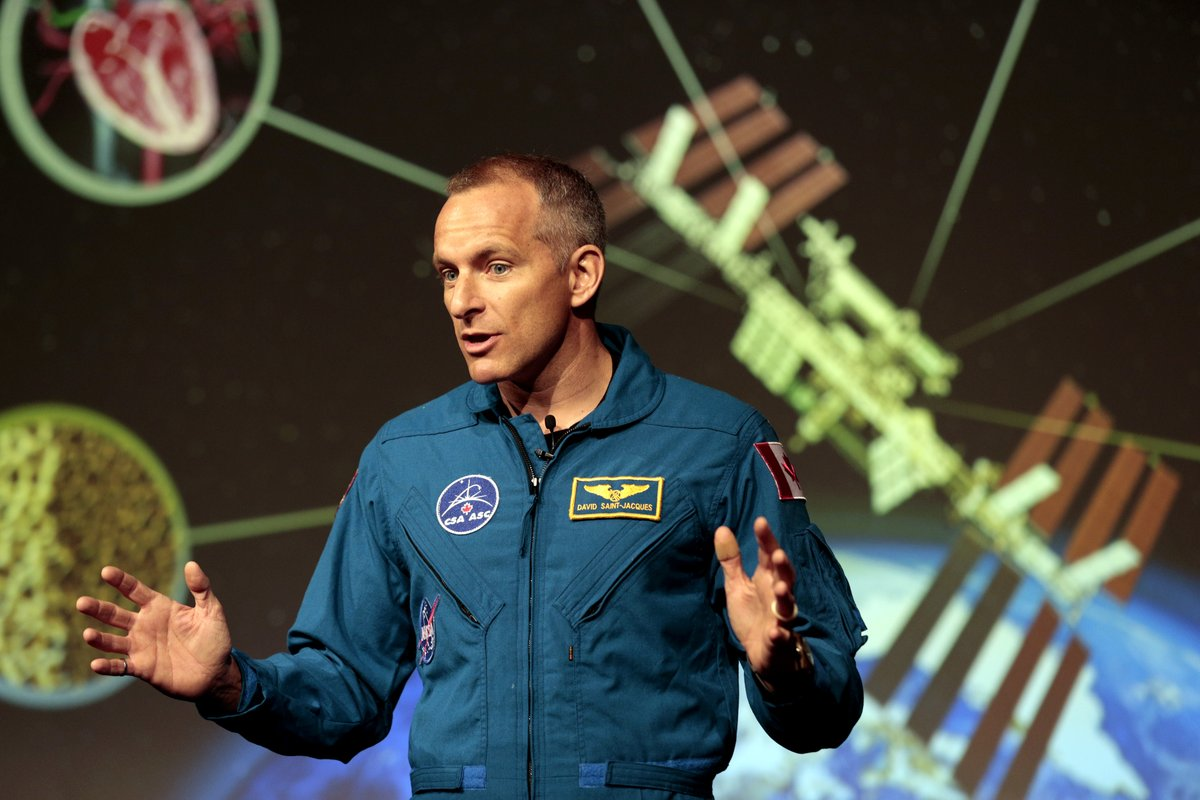 When Canadian Astronaut David Saint-Jacques boards the International Space Station in November 2018, he'll be involved in groundbreaking experiments on how the body's immune and vascular systems function in space. (Photo: David Saint-Jacques/Twitter)