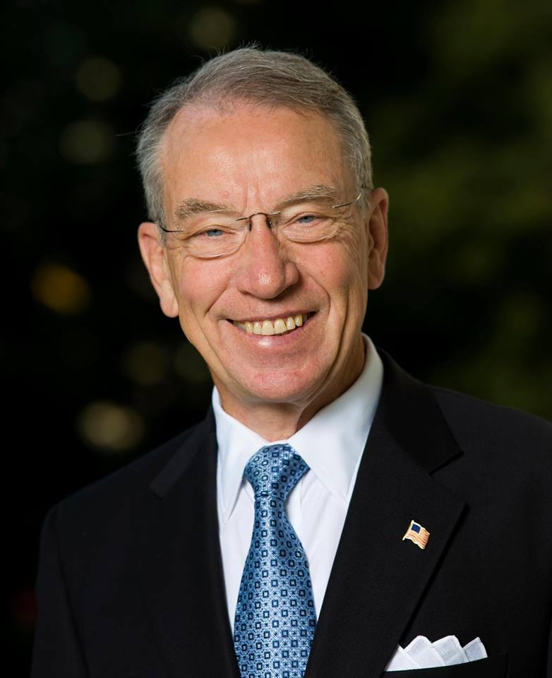 Republican Sen. Chuck Grassley of Iowa said Thursday he's going ahead with confirmation hearings for two appellate court nominees, Davis Stras of Minnesota and Kyle Duncan of Louisiana, even though they have not received the support of both of their home-state senators. (Photo: Senator Chuck Grassley/Facebook)
