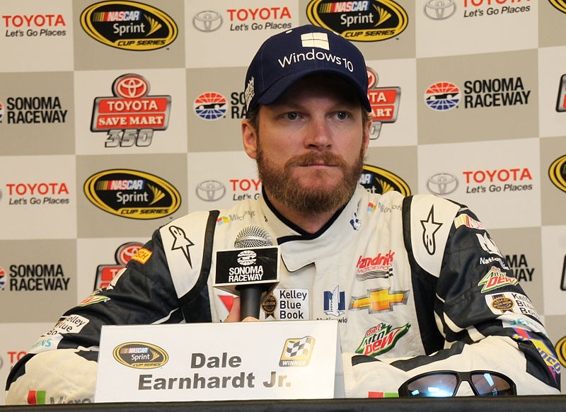 Dale Earnhardt Jr. (Photo by Sarah Stierch - Own work, CC BY 4.0)