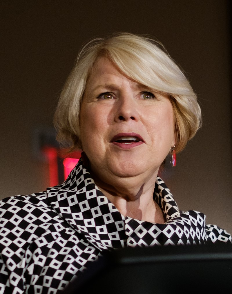 Advanced Education Minister Deb Matthews said she is disappointed the New Democrats aren't co-operating with the government's desire to allow students to return to classes on Monday. (Photo by Sebastiaan ter Burg from Utrecht, The Netherlands - Minister Deb Matthews, Deputy Premier; Minister of Advanced Education and Skills Development et the Creative Commons Global Summit 2017, CC BY 2.0)