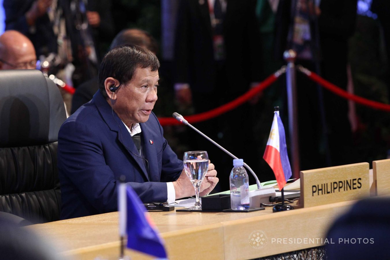FILE: President Rodrigo Duterte has offered the People's Republic of China the privilege to operate the third telecommunications carrier in the country as a means to end the existing duopoly in the vital industry, Malacañang said Monday. (PCOO PHOTO)
