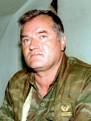 General Ratko Mladić during UN-mediated talks at Sarajevo airport in 1993. (Photo By I, Evstafiev, CC BY-SA 3.0)