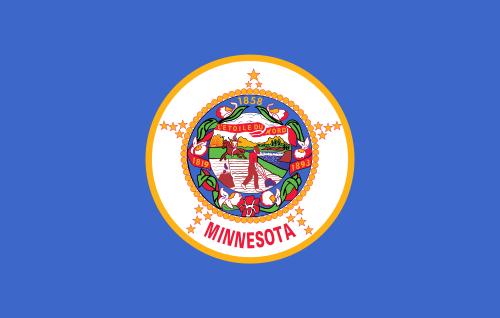 Flag of Minnesota (Photo by Public Domain)
