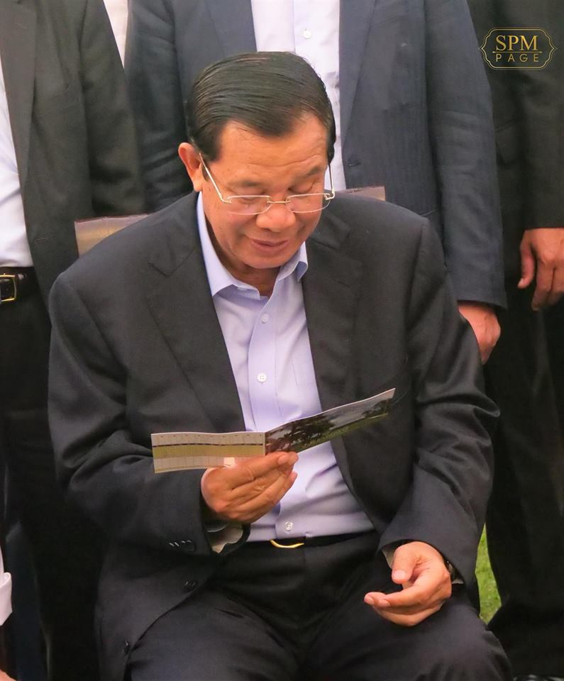 Prime Minister Hun Sen talks about nefarious U.S. designs to unseat him, but the United States rejects that claim as baseless. Experts say his attacks are driven by a fear of losing elections next year. (Photo: Samdech Hun Sen, Cambodian Prime Minister/Facebook)