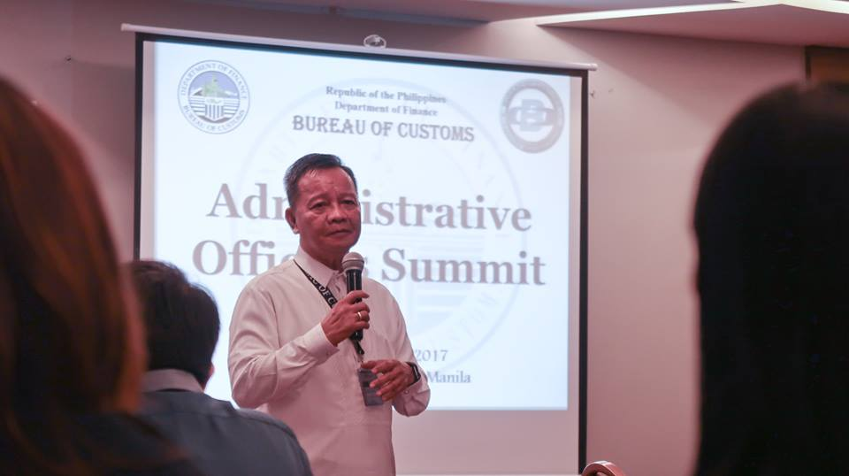 Customs Commissioner Isidro Lapeña said customs gatekeepers of the Pier and Inspection Division (PID) and customs police of the Enforcement and Security Services (ESS) are no longer tasked to check the gate pass at the terminal gates. (Photo: Bureau of Customs PH/Facebook)