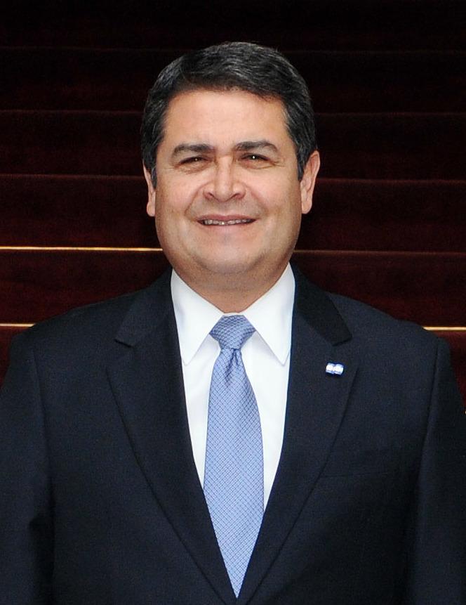 Juan Orlando Hernández (Photo by Daniel Malpica, Ministerio de Relaciones Exteriores from Perú - Visita del presidente de Honduras al Palacio de Torre Tagle, CC BY-SA 2.0)