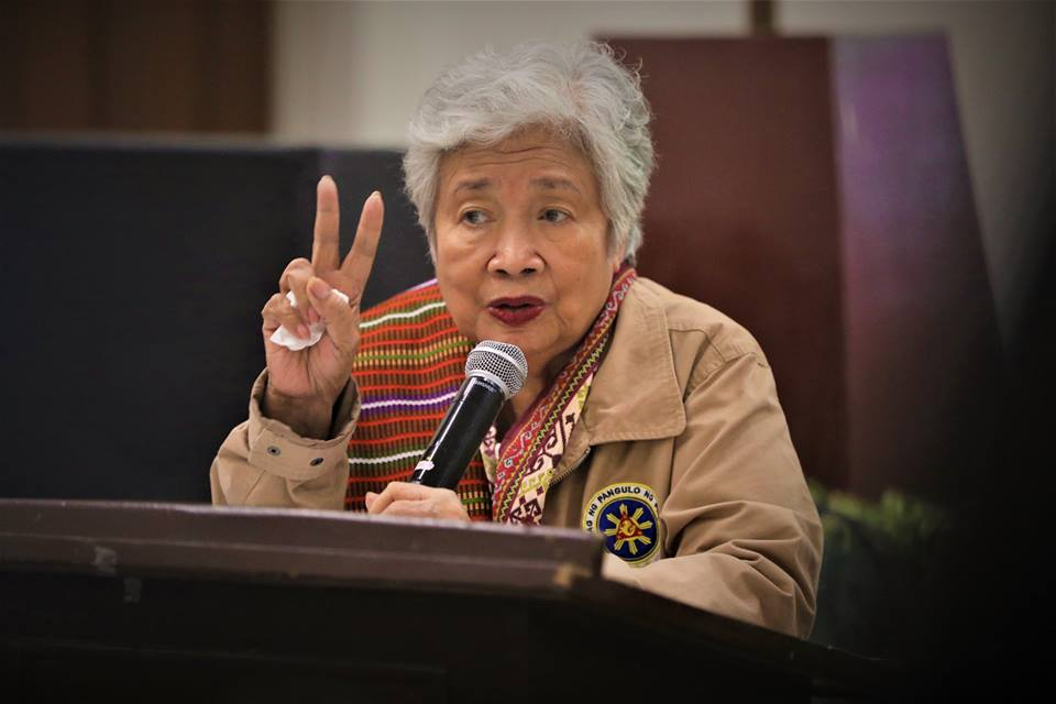 For her part, Education Secretary Leonor Briones said DepEd will always condemn activities that endanger schools and other learning institutions. Briones has always emphasized that education should not be delayed. (Photo: DepEd Philippines/Facebook)
