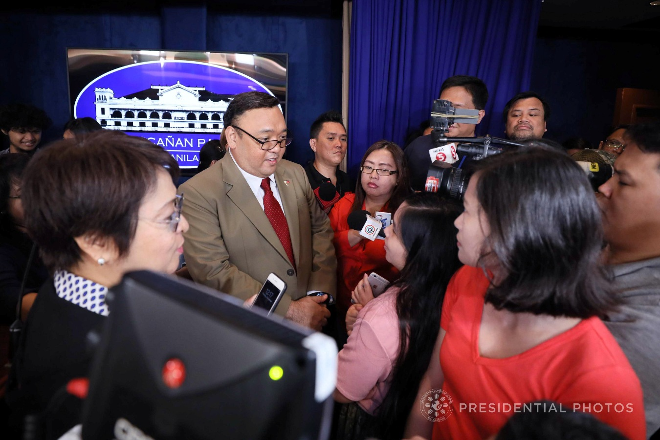 FILE: Newly-appointed Presidential Spokesperson Harry Roque Jr.  (ACE MORANDANTE/PRESIDENTIAL PHOTO)