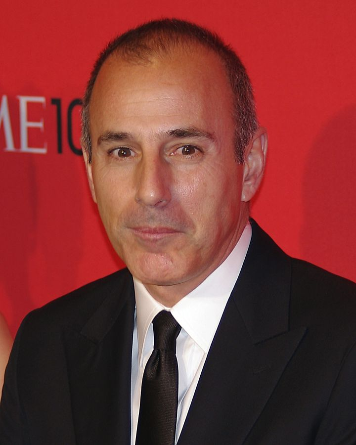 """""""Today"""" show host Matt Lauer was fired for what NBC on Wednesday called """"inappropriate sexual behaviour"""" with a colleague and was promptly confronted with a published report accusing him of crude and habitual misconduct with other women around the office. (Photo By David Shankbone - Own work, CC BY 3.0)"""