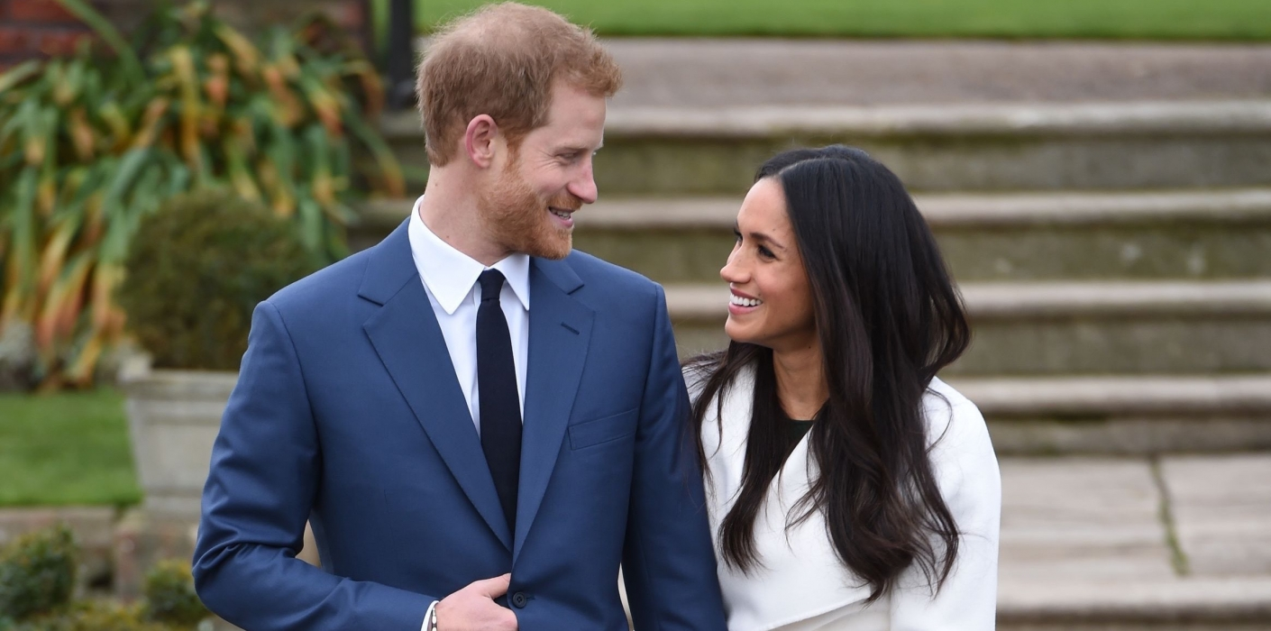 Canadian designer John Muscat had no idea he was going to be part of one of the biggest stories of the year. The fashion brand Line the Label got priceless exposure Monday morning when a white wool wrap coat Muscat designed with Jennifer Wells was worn by Meghan Markle during the photo-op for her engagement to Prince Harry. (Photo: The Royal Family)