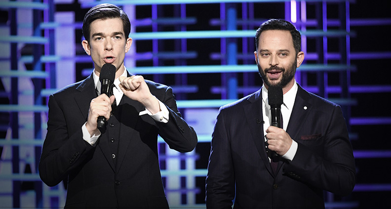 Nick Kroll and John Mulaney are set to co-host the 2018 Independent Spirit Awards. (Photo: Film Independent)