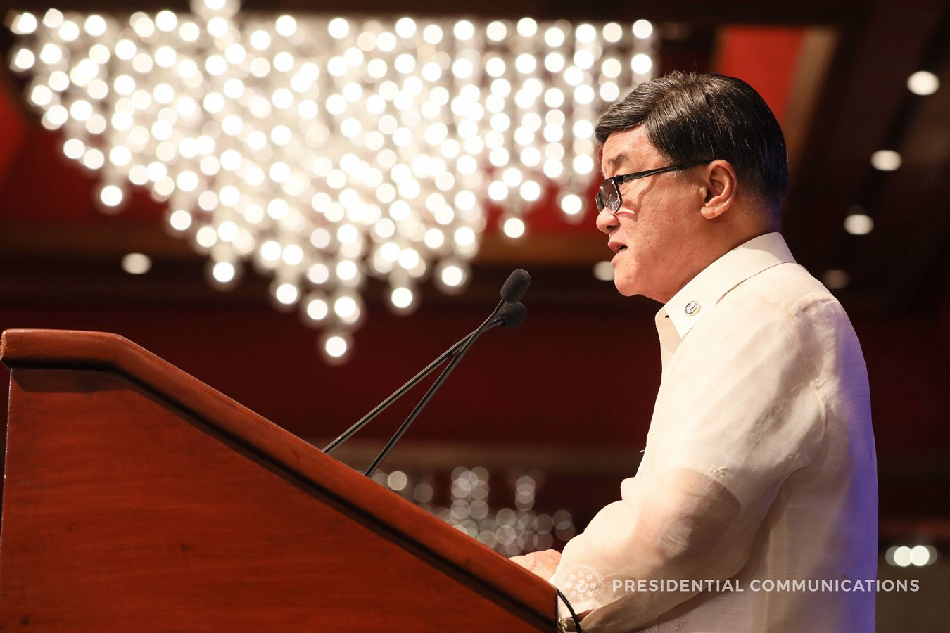 FILE: Justice Secretary Vitaliano Aguirre II issued Department Order No. 763, ordering the NBI to investigate and build a case over the alleged danger to public health, surfacing from the vaccination program carried out by the DOH and the manufacturer of 'Dengvaxia', Sanofi Pasteur. (ACE MORANDANTE/PRESIDENTIAL PHOTO)