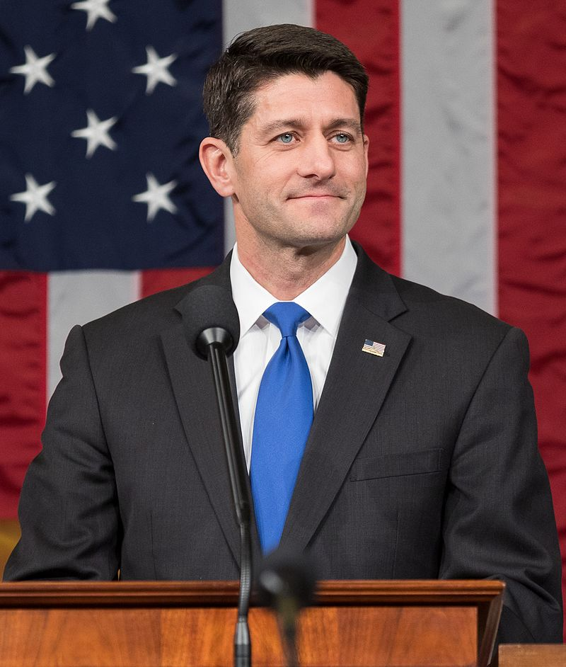 """Ryan, R-Wis., told """"Fox News Sunday"""" that """"a lot of members are suggesting"""" that the House include the repeal, though he did not weigh in personally on how to deal with the coverage mandate. (Photo By U.S. Congress http://www.speaker.gov/about, Public Domain)"""