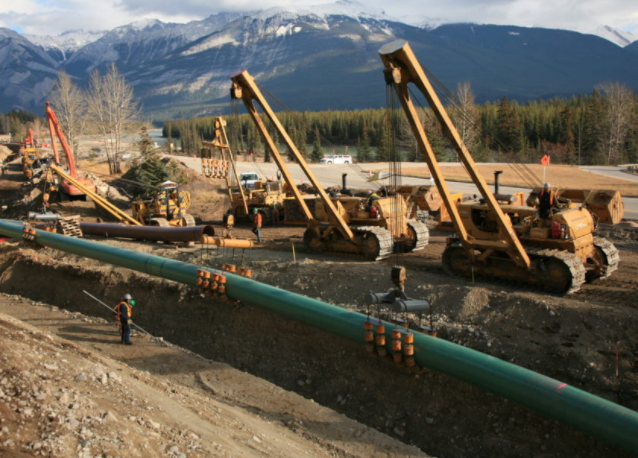 Kinder Morgan Canada Ltd. said Wednesday that the Trans Mountain pipeline expansion project could be a year behind schedule as it continues to encounter permitting delays. (File photo from TRANSMOUNTAIN website)