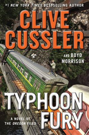 """""""Typhoon Fury"""" (G.P. Putnam's Sons), by Clive Cussler and Boyd Morrison (Photo: Clive Cussler/Facebook)"""