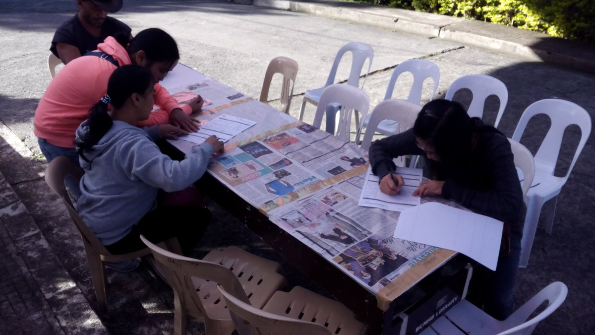 The Commission on Elections (Comelec) on Tuesday said it is unlikely that voter registration period for the May 14, 2018 Barangay and Sangguniang Kabataan (SK) polls would be extended. (Photo: Comelec Baguio/Twitter)