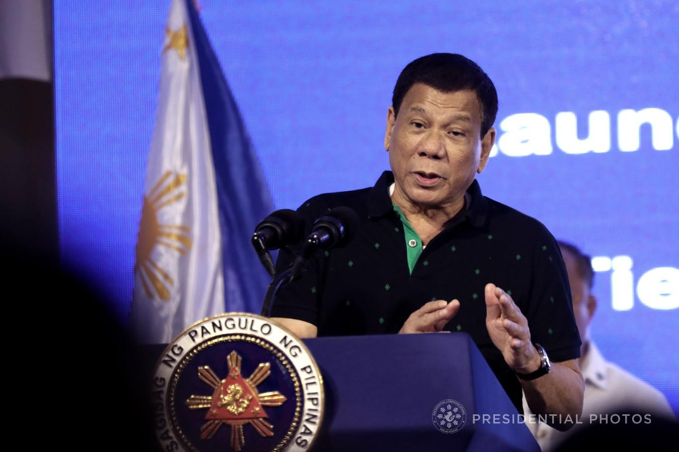 FILE: President Rodrigo Roa Duterte SIMEON CELI JR./PRESIDENTIAL PHOTO