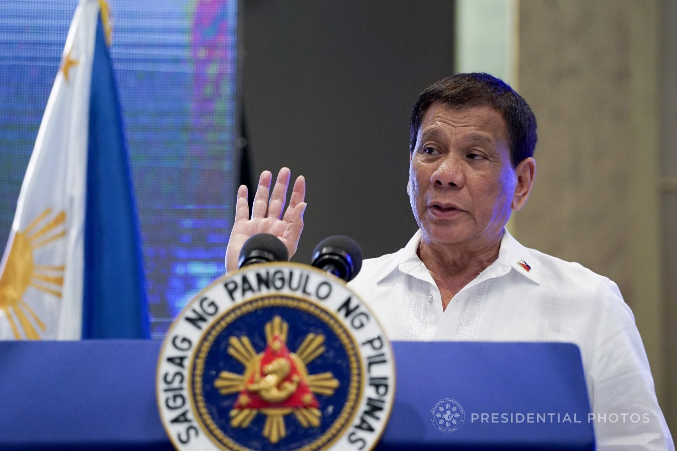 FILE: President Rodrigo Roa Duterte KING RODRIGUEZ/PRESIDENTIAL PHOTO