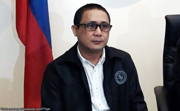 Roberto Catapang Jr., who has been provisionally admitted to the Witness Protection Program (WPP), said Eldon Cruz, the husband of Aquino's elder sister Ballsy Aquino-Cruz, had endorsed the release of payments for the supposed bogus RROW claims. (Photo Courtesy of facebook.com/PTVph)
