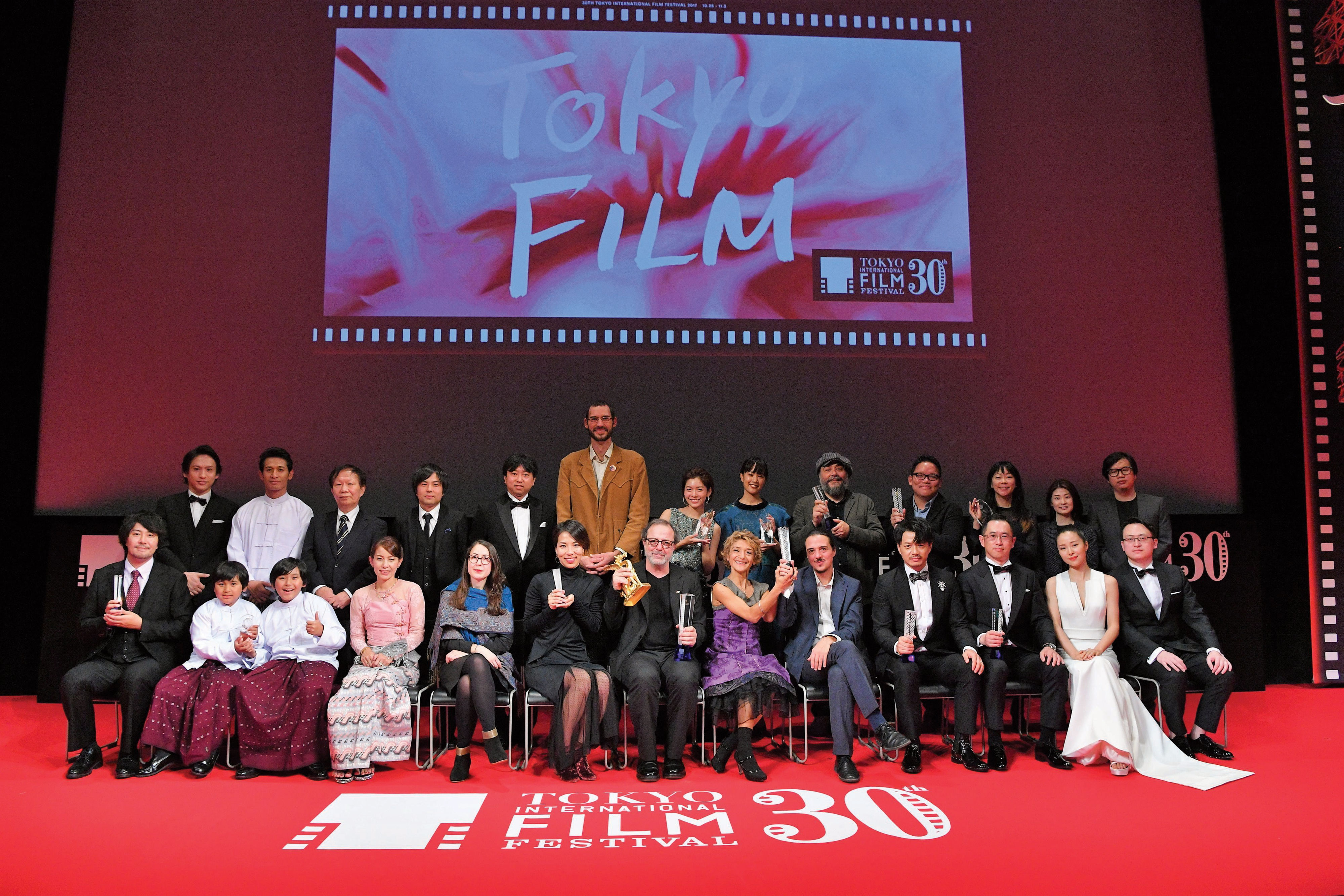 The winners were announced at the closing ceremony on the festival's final day. (Photo from https://prw.kyodonews.jp/opn/release/201711087727/?images)