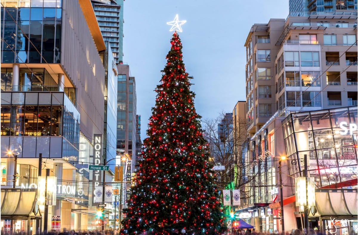 VANCOUVER CHRISTMAS TREE LIGHTING 2017 | Philippine ...