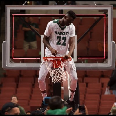 Drammeh tied his career best with four 3-pointers and Gibson Johnson made 11-of-14 free throws and finished with 15 points for Hawaii (7-3). (Photo: Sheriff Drammeh/Twitter)