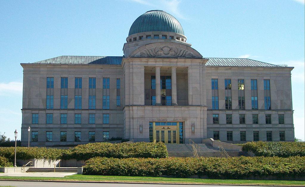 Iowa Supreme Court in Des Moines (Photo By Ctjf83 - Own work, CC BY-SA 3.0)