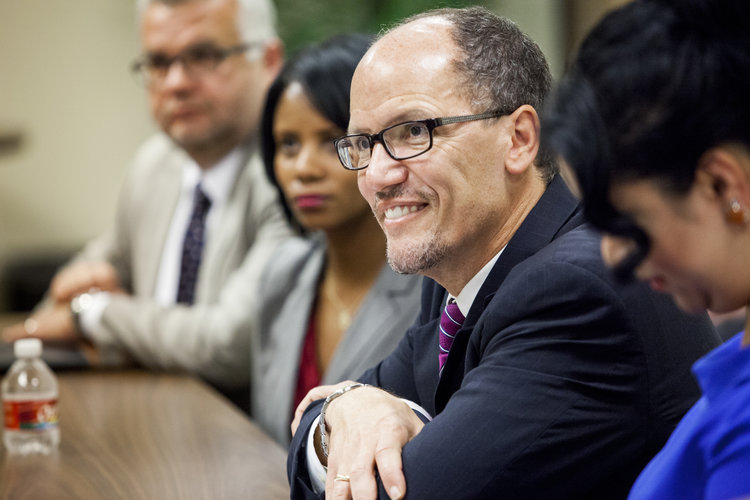 FILE: National party Chairman Tom Perez praised voter turnout efforts that produced an unusual coalition of black voters, white liberals and some Republicans. (Photo: tomperez.org)