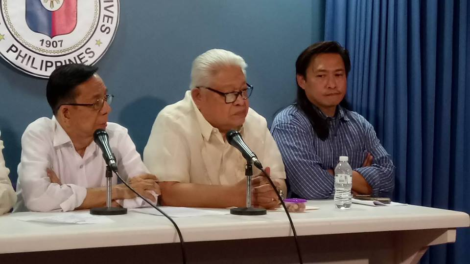 FILE: Albay representative Edcel Lagman that Duterte has no authority to discipline Ombudsman and its deputies unless the jurisprudence of the Supreme Court en banc in Gonzales III v. Office of the President case in 2014 was reversed. (Photo: PTV/Facebook)