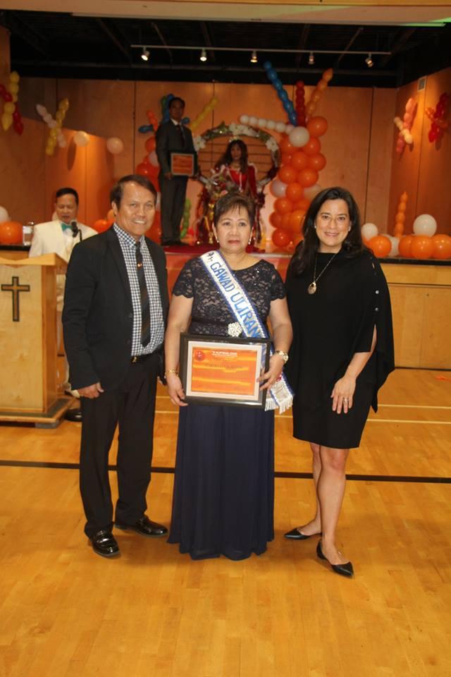 Carmelita Alitin, Gawad Ulirang Ina awardee for 2017.