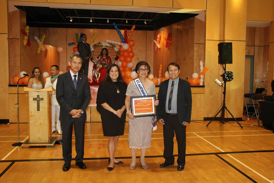 Aurea Y. Sayo, Leadership Excellence awardee for 2017.