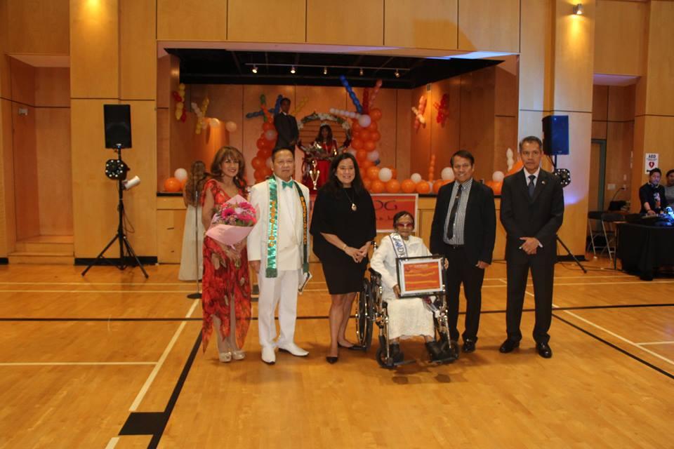 Dominga 'Debit' Garcia, Leadership Excellence awardee for 2017