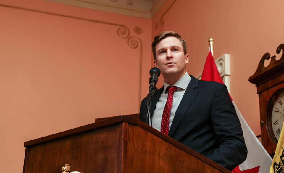 Federal Environment Minister Catherine McKenna is suggesting New Brunswick's approach to carbon pricing won't meet Ottawa's requirements, but Premier Brian Gallant is defending his plan. (Photo: Brian Gallant/Facebook)