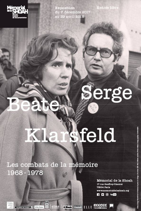 An exhibition exploring the story of the steely married couple Beate and Serge Klarsfeld, who hunted German Nazis and their former collaborators in occupied France, is opening in Paris with materials from the couple's personal archives. (Photo: Mémorial de la Shoah/Facebook)