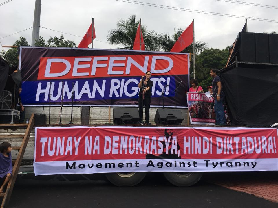 'Unlimited peace, not unlimited martial law'